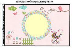 Dicas pra Mamãe: Kit de festa Personalizado com tema Jardim Encantado Minecraft Crafts, Clip Art, Tapestry, Baby Shower, Bird, Silhouette, Enchanted Garden, Ideas Aniversario, Party Kit