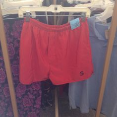 Red men's shorts