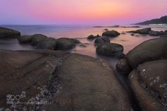 sun set by tanutpong_c LandScapes Photography #InfluentialLime