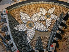 Pebble Art Mosaic Floors.... John Botica: Mold_In_Progress