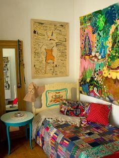 Bohemian home decor #bohemian #gipsy #boheme