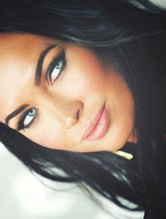 Megan Fox, her makeup is gorgeus
