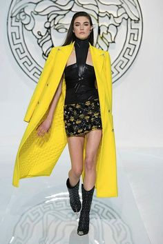 """VUNK"""" – Versace's new punk, as if the spirit of punk was born today. Description from fashionmention.com. I searched for this on bing.com/images"""