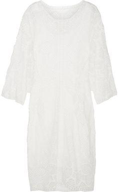 Chloé Crocheted lace dress on shopstyle.com