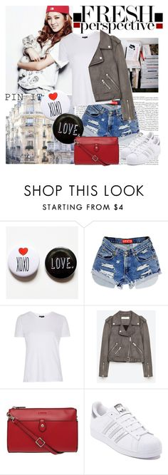 """""""Pin It"""" by polybaby ❤ liked on Polyvore featuring Prada, Topshop, Jakke, Lodis, adidas and pins"""
