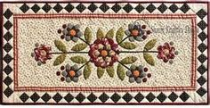 star of david quilted table runner - Bing Images