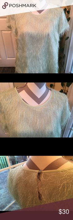 Ann Taylor green top Beautiful and never worn!  Soft. Ann Taylor Tops
