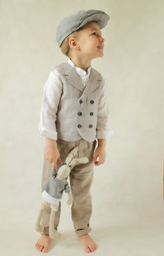 Boys Clothing Boys Natural Linen Blazer Toddler Boy Jacket Rustic