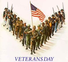 Veterans Day:  For all those who have served, are serving, and will serve, we thank you.