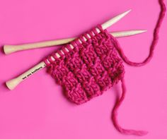 le point de côtes piquées - the waffle stitch — trust the mojo Pencil Case Tutorial, Diy Pencil Case, Border Embroidery, Hand Embroidery, Crochet Motif, Knit Crochet, Simply Crochet, Waffle Stitch, Herringbone Stitch