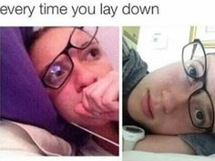 50 Memes About Wearing Glasses That Will Make You Laugh Until Your Eyes Water Braces And Glasses, Glasses Meme, People With Glasses, Funny Memes About Life, Really Funny Memes, Stupid Memes, Nerd Girl Problems, Wearing Glasses, Funny Posts