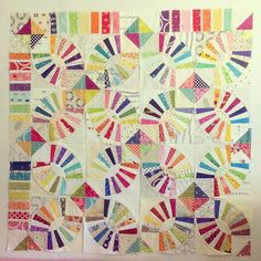 This is what 25% of our group quilt looks like :) by Penny Poppleton, via Flickr