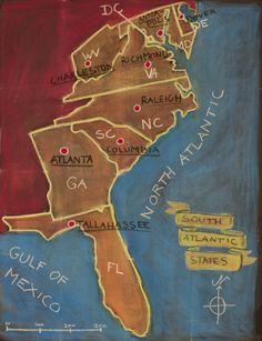 Visit my Waldorfschool/Steinerschool related pinboards here! 5th Grade Geography, Us Geography, Geography Lessons, Teaching Geography, Waldorf Curriculum, Waldorf Education, Social Studies Worksheets, Science Worksheets, North America Geography