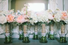 Chad + Erin | Dallas Wedding | Haley Rynn Images Blush and Emerald wedding