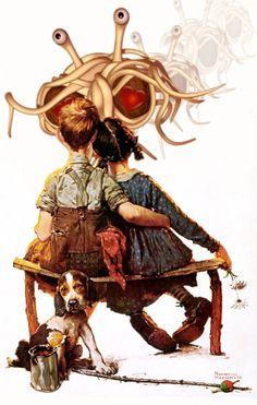 FSM The Flying Spaghetti Monster is love.