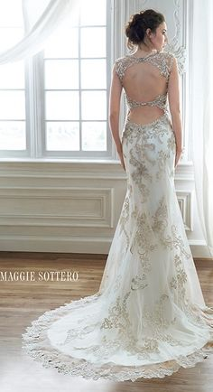 wedding dress by Maggie Sottero