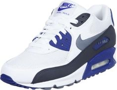 new concept 70032 fad83 Nike Air Max 90 weiß grau blau