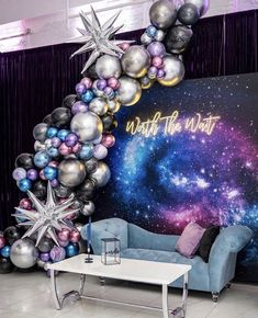 32 Bridal Shower Theme Ideas to Get You Inspired,bridal shower ideas themes,bridal shower ideas at home,modern bridal shower ideas Balloon Backdrop, Balloon Garland, Balloon Decorations, Birthday Decorations, Balloon Arrangements, Balloon Columns, Galaxy Balloons, Birthday Balloons, Birthday Parties