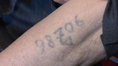 Holocaust Survivors Tattoo Numbers Number That Was Tattooed Number Tattoos, Survivor Tattoo, Holocaust Survivors, Jewish History, Women In History, World War Two, Numbers, Ww2, Brave