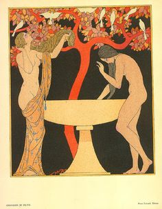 George Barbier. French Fashion Illustrator