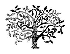 "My ""Tree of Life"" doodle artwork is available as art prints, cards, throw pillows and more on Fine Arts America . Click on image to buy! http://fineartamerica.com/featured/tree-of-life-anushree-santhosh.html"