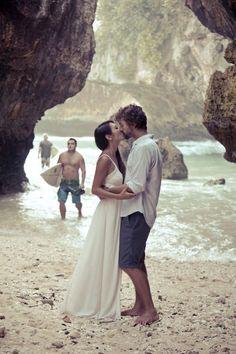 Love! #beach #wedding #destinationwedding