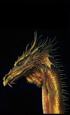 ☆ Golden Dragon :¦: By Artist Ciruelo ☆