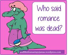 A funny blog post from Midlife Dramas in Pyjamas. Hubbies - you've just gotta love 'em!