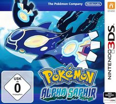 Pokémon Alpha Saphir (deutsch) (3DS)