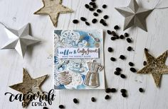 Altenew Coffee Love card for Winter 2017 Coffee Lovers blog hop Feeling Under The Weather, Winter Coffee, Altenew, Card Tutorials, Coffee Lovers, Love Cards, Card Designs, Winter 2017, I Card