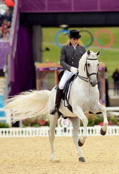 Juan Manuel Muñoz Diaz and Fuego XII of Spain.  Saw this pair at WEG 2010--amazing!