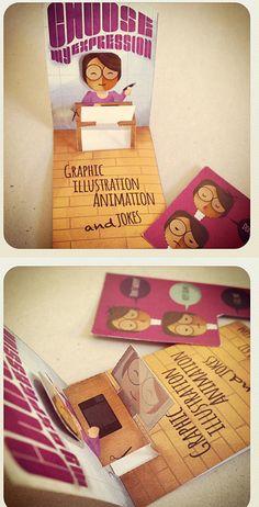 Pop Up Business Card Design | Business Cards | The Design Inspiration