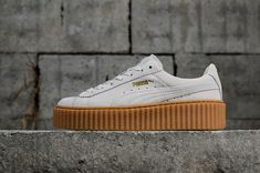 7ecc66d7e7a417 Mode Puma Suede Creepers X Rihanna White blanc Womens Fashion Shoes  Sneakers Youth Big Boys Shoes