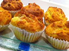 Muffins Salados de Jamón, Queso Brie y Tomate - myTaste.es