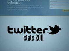 Twitter Stats 2011, apresentação de dados do Twitter. Gostou? Quer uma apresentação profissional para sua empresa? Entre em contato conosco (http://www.monkeybusiness.com.br/)