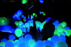 Excellent DIY Party Decoration Tip - Dance-floor Disco Balloons! - Hand Luggage Only - Travel, Food & Home Blog
