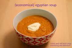 living, loving, laughing...: (Economical) Egyptian Soup // Nourishing and Delicious!