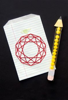 Geometric Apple DIY