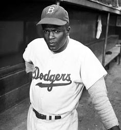"""The great Jackie Robinson - a great athlete and a great human being who knew """"Life is 10 percent what happens to you and 90 percent how you respond to it."""""""