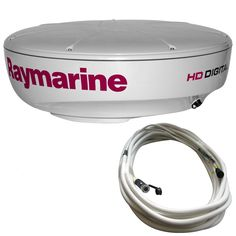 Cable - HD Digital Radar Dome - Raymarine's HD Digital radome scanners combine the power and clarity of HD Digital signal processing with an ultra-compact scanner suitable for all types of vessels. Compatible with a, c & e Serie Digital Signal Processing, Jl Audio, Consumer Electronics, All In One, Cable, Container, Ebay, Things To Sell, Products