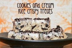 cookies n cream rice crispy