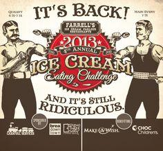 Farrell's Ice Cream Parlour Restaurants Return!  Opening in Sacramento 8/8/13.