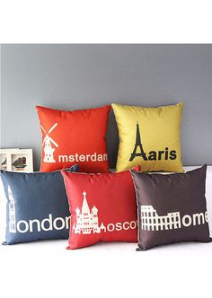 City Cushion Cover at Lady In Home!