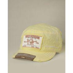 True Religion Brand Jeans Linen Legion Baseball Cap ($85)