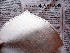 furoshiki newspaper
