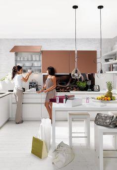 Spectacular GLAS TEC PLUS Glasklare Linien Und ein wenig Extravaganz noltegroup Nolte K chen Pinterest Kitchen living rooms and Living rooms