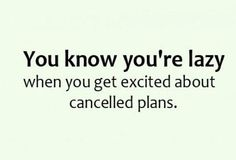Lazy planning