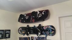 wakeboard and snowboard rack