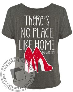 Phi Sigma Sigma No Place Like Home Tee by Adam Block Design