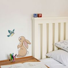 Boo & The Bluebird wall sticker